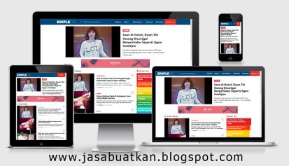 template blogspot responsive 4